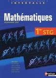 Albert Hugon et Jean-Luc Dianoux - Mathématiques 1e STG.