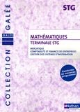 Jean-Luc Dianoux et Muriel Dorembus - Mathématiques Tle STG - Mercatique, comptabilité et finance des entreprises, gestion des systèmes d'information.