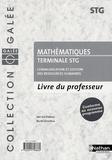 Jean-Luc Dianoux et Muriel Dorembus - Mathématiques Tle STG communication et gestion des ressources humaines - Livre du professeur.