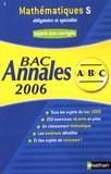 Christian Lixi - Mathématiques S obligatoire et spécialité - Annales Bac sujets non corrigés.