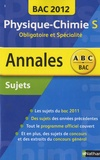 Michel Faye - Annales BAC 2012 - Physique-Chimie - Sujets.