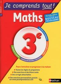 Carole Feugère et Gilles Mora - Maths 3e Je comprend tout !.