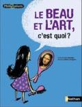 Le beau et l'art, c'est quoi ? / texte d'Oscar Brenifier | Brenifier, Oscar (1954-....). Auteur