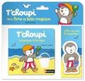Thierry Courtin - T'choupi, surprises à la mer - Mon livre de bain magique.