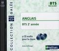 Anne Bellenger - Anglais BTS 2e année - 2 CD-Audio pour la classe.