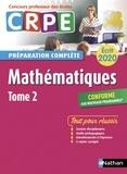 Daniel Motteau et Saïd Chermak - Mathématiques écrit CRPE - Tome 2.