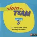Christian Gernigon - Anglais 3e Join the team - CD audio-ROM de remplacement.