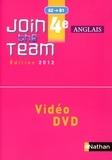 Hélène Adrian - Anglais 4e Join the Team A2-B1. 1 DVD