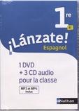 Edouard Clemente et Monique Laffite - Espagnol 1re B1 Lanzate!. 1 DVD + 3 CD audio