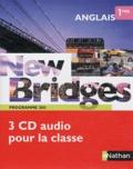 Nathan - Anglais 1e New Bridges - Programme 2011. 3 CD audio