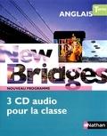 François Guary - Anglais Tle New Bridges B2 - Programme 2012. 3 CD audio