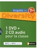 Corinne Escales - Anglais Tle B2 Diversity. 1 DVD + 2 CD audio