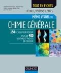 Isabelle Bonnamour et Jean-Sébastien Filhol - Mémo visuel de chimie générale - Licence/Prépas/Paces.