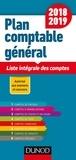 Dunod - Plan comptable général - Liste intégrale des comptes.