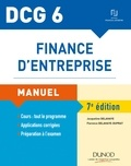 Florence Delahaye-Duprat et Jacqueline Delahaye - Finance d'entreprise DCG 6 - Manuel.