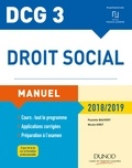 Paulette Bauvert et Nicole Siret - Droit social DCG 3.