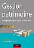 Arnaud Thauvron - Gestion de patrimoine - Stratégies juridiques, fiscales et financières.