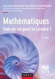 Jean-Pierre Ramis et André Warusfel - Mathématiques - Tout-en-un pour la Licence 1.