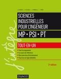 Jean-Dominique Mosser et Pascal Leclercq - Sciences industrielles pour l'ingénieur tout-en-un MP, PSI, PT.