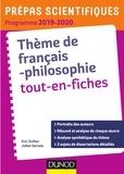 Éric Dufour et Julien Servois - La démocratie Tout-en-fiches - Prépas scientifiques 2019-2020.