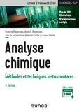 Francis Rouessac et Annick Rouessac - Analyse chimique - 9e éd. - Méthodes et techniques instrumentales.