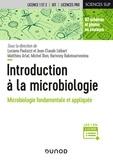 Luciano Paolozzi et Jean-Claude Liébart - Introduction à la microbiologie - Microbiologie fondamentale et appliquée.