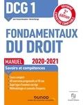 Jean-François Bocquillon et Martine Mariage - Fondamentaux du droit DCG 1 - Manuel.