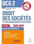 Jean-François Bocquillon et Pascale David - DCG 2 Droit des sociétés et des groupements d'affaires.