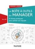 Rémi Juët - La boîte à outils du manager - 51 fiches pratiques pour piloter son équipe.