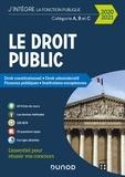 Raphaël Piastra et Philippe Boucheix - Le Droit public 2020-2021 - Catégories A, B et C - Droit constitutionnel - Droit administratif - Finances publiques - Institutions européennes.