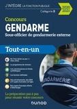 Benoît Priet et Corinne Pelletier - Concours Gendarme - Sous-officier de gendarmerie externe - 2020/2021 - Tout-en-un.