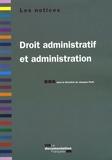 Jacques Petit - Droit administratif et administration.