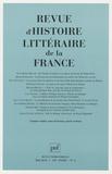 Jean-Marie Roulin et Henri Duranton - Revue d'histoire littéraire de la France N° 2, Mai 2010 : .