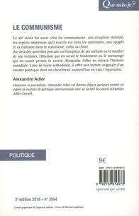 Le communisme 3e édition