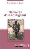 Koundya Joseph Guindo - Mémoires d'un enseignant.