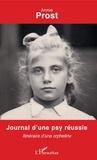 XXX - Journal d'une psy réussie - Itinéraire d'une orpheline.
