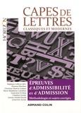 Stéphane Lelièvre - CAPES de Lettres classiques et modernes - Toutes les épreuves d'admissibilité et d'admission - Toutes les épreuves d'admissibilité et d'admission.