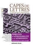 Stéphane Lelièvre et Florence Bourbon - CAPES de Lettres - 3éd. - Toutes les épreuves d'admissibilité et d'admission.