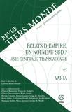 Laëtitia Atlani-Duault - Revue Tiers Monde N° 193, Janvier-Mars : Eclats d'empire, un nouveau Sud ? - Asie centrale, Transcaucasie et varia.