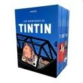 Hergé - Les Aventures de Tintin Intégrale : Coffret en 8 volumes.