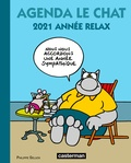 Philippe Geluck - Agenda Le Chat - 2021 année relax.