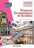 Guy Pierrisnard et Vincent Martinez - Sciences Economiques et Sociales 2e enseignement d'exploration.