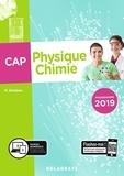 Nathalie Granjoux - Physique chimie CAP.