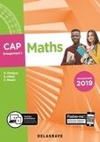 Nathalie Granjoux et Sandrine Lafaye - Maths CAP groupement 1 - Pochette élève.