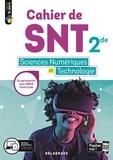 Dominique Sauzeau et Stéphane Fay - Cahier de SNT sciences numériques et technologie 2de.