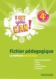 Michelle Jaillet - Anglais 4e cycle 4 A2>B1 I Bet You Can! - Fichier pédagogique.