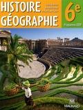 Rachid Azzouz et Marie-Laure Gache - Histoire géographie 6e - Manuel élève.