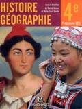 Rachid Azzouz et Marie-Laure Gache - Histoire Géographie 4e - Manuel élève.