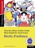 Tahar Ben Jelloun et Andrée Chedid - Récits d'enfance.