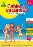 Myriam Baya Nasroune et Odile Séménadisse - Cahier de vacances De la GS au CP.